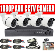 1CH-16CH 1080P DVR CCTV Outdoor IR Home Security System with Hard Drive