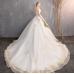 Princess dream, European and American Palace, bra, tail wedding dress