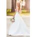 Sexy Lace Beach Wedding Dress of European and American Popular Princess